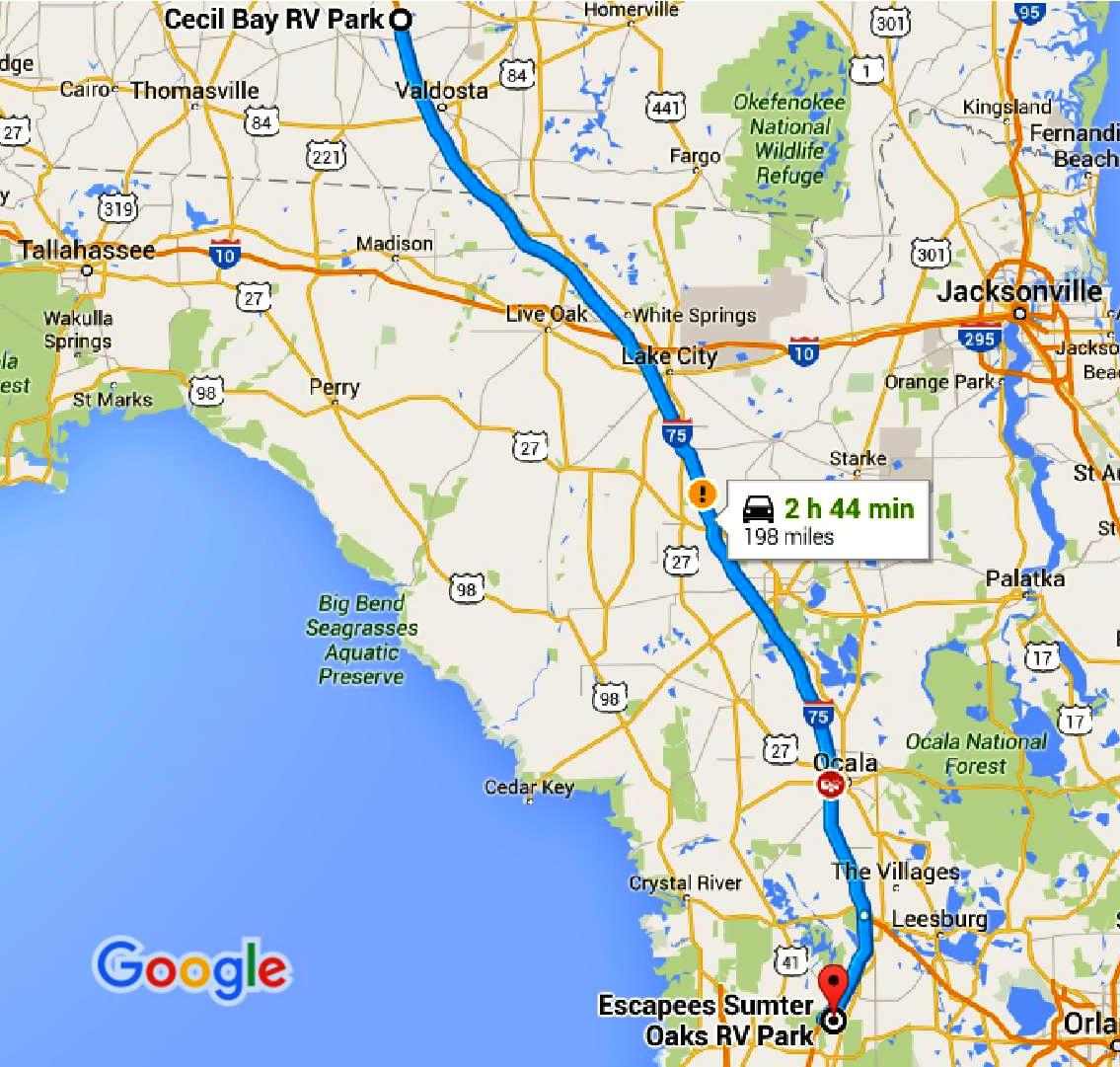 Sts Hop 11 Cecil Ga To Bushnell Fl 171 Our Wander Years