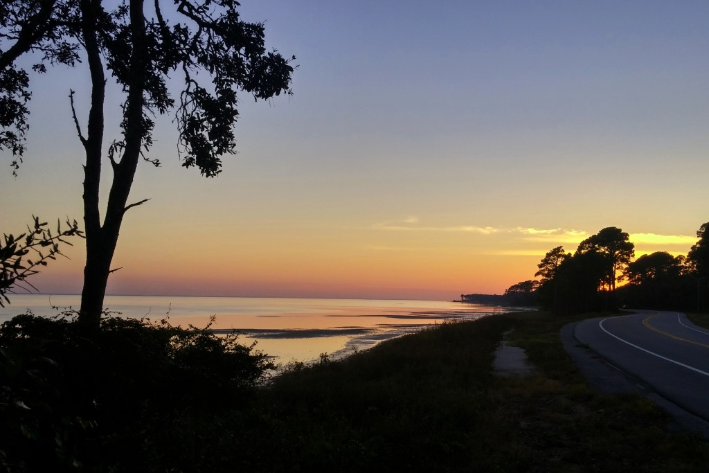 Sunset in Carrabelle
