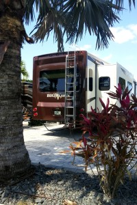Our RV from the back