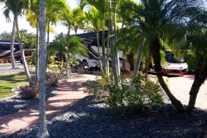 Site landscaping