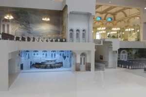 Details of the Temple model